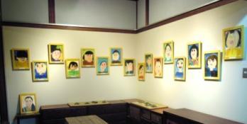 ふたば西保育園卒園記念展展示1