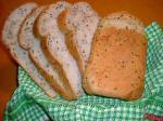 クリームチーズとゴマのパン