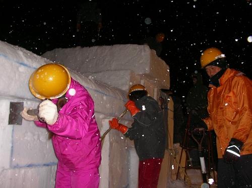 ねっと雪像2012.2.8 (1)