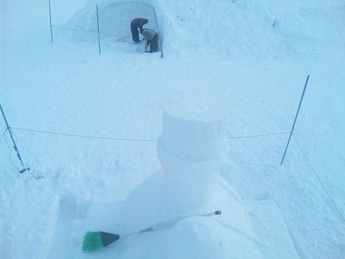 ねっと雪像2012.2.11 (1)