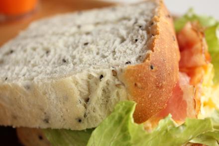 セサミ食パン^^