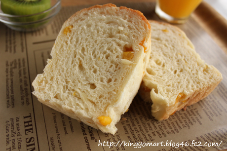コーン食パン