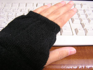 手袋?・2