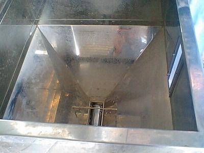 ライスミニ貯米庫内部
