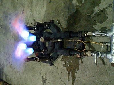 内輪全開燃焼中1