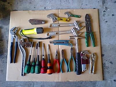 工具袋の中身