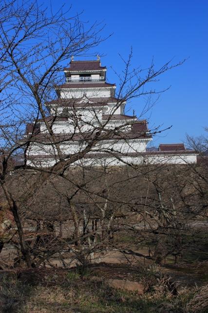会津城天主西