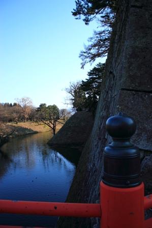 会津城搦め手門石垣ブログ