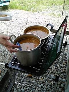 昼食用のカレー