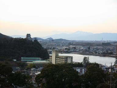 成田山山頂からの景色