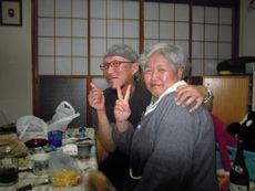 伯母さんとハイチーズ(*^^)v