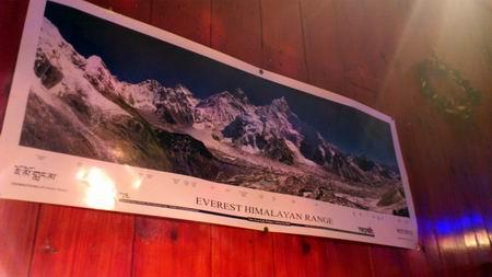 エベレストの絶景もちょっとだけ堪能