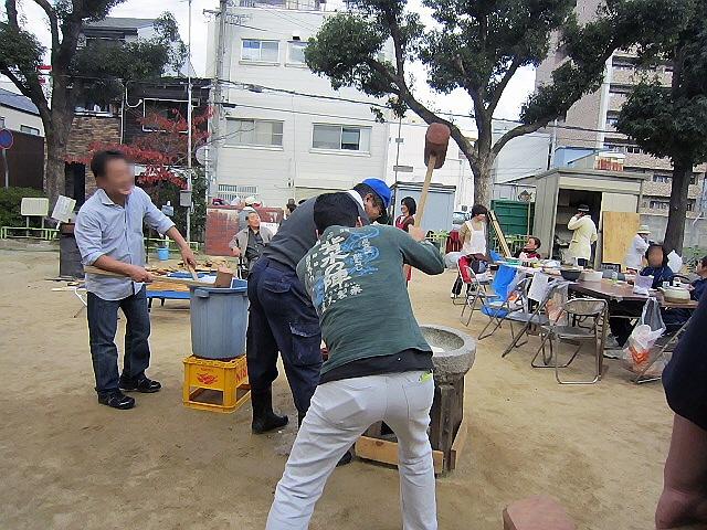 12/4 原酒店もちつき大会♪