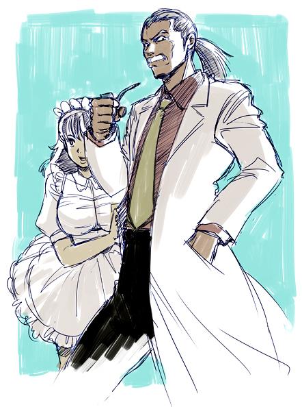 岸和田博士とぱる子