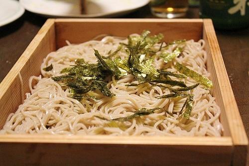 北海道産の蕎麦
