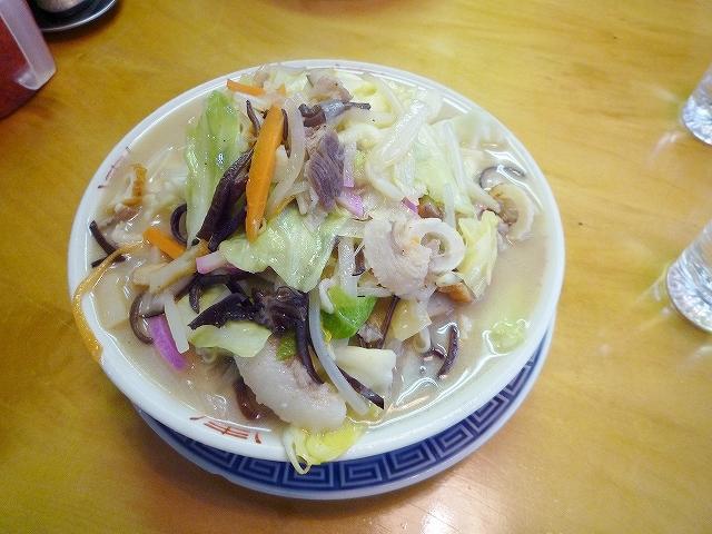 野菜モリモリちゃんぽん