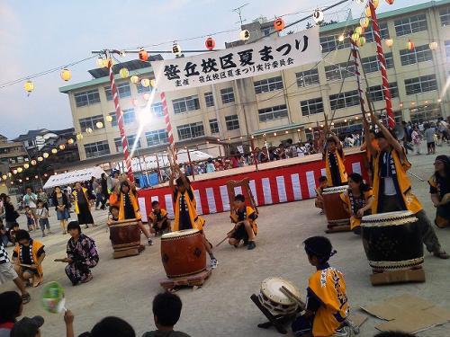 笹丘校区夏祭り