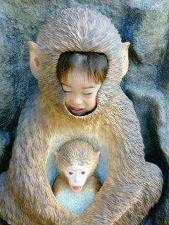 サルの子はサル^^