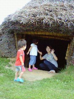 入り口はちょっとくもの巣あって ある意味ドキドキ。