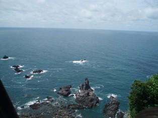 やっぱり日本海は青さが違う!