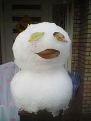 雪 だるま