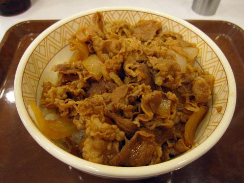 牛丼(並)