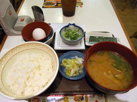 豚汁納豆定食