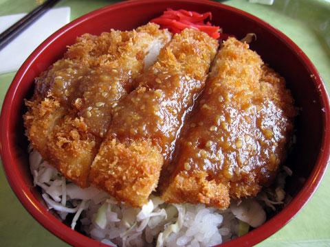 味噌ダレカツ丼