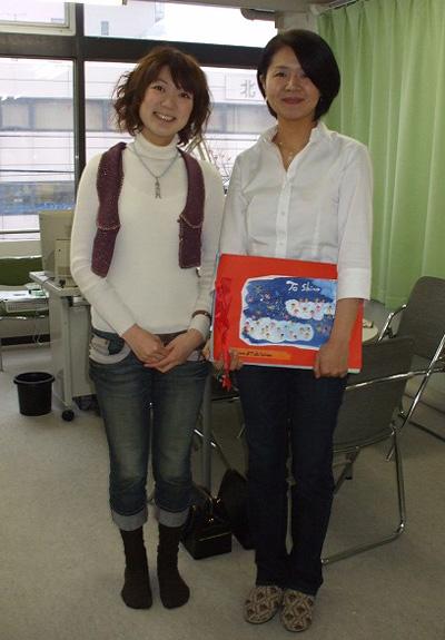 shinoさんと石川さん