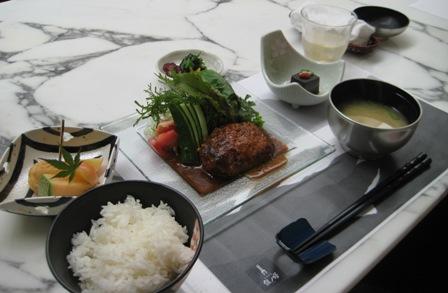 ③豊後牛使用 ハンバーグ定食