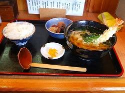 いっぽ定食(天ぷらにチェンジ)