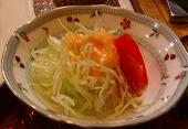 セットのサラダ