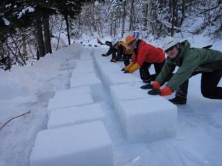 ブロック作り