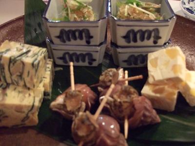 はせ茂,横浜,白楽,焼酎割り,緑茶割り,玄米緑茶割り,コウバシ茶,前菜
