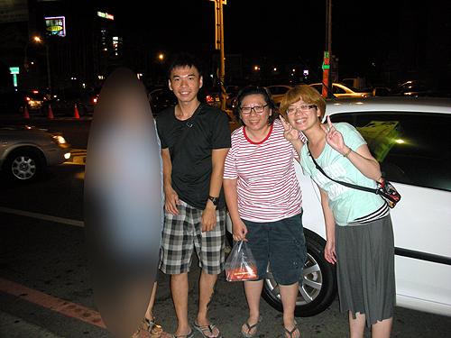 台南の郭さんとお友達