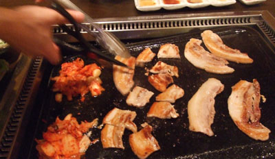 麻布十番 韓式豚肉専門店「豚とんびょうし」 焼き肉