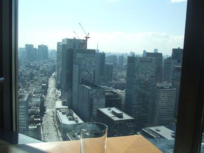 マンダリン オリエンタル 東京 KESIKI(ケシキ) 景色