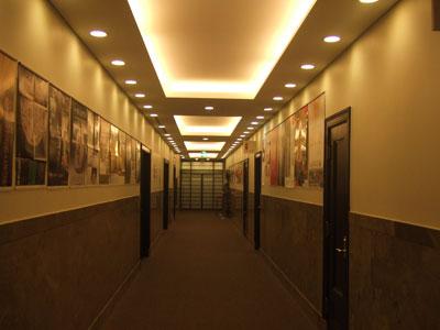三井美術館 廊下