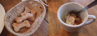駒沢 SMILE(スマイル) ワンコ用パンとデザート