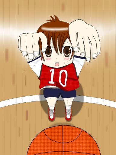 看板娘017 体育DE籠球。