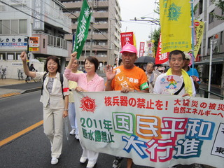 足立平和行進ー2