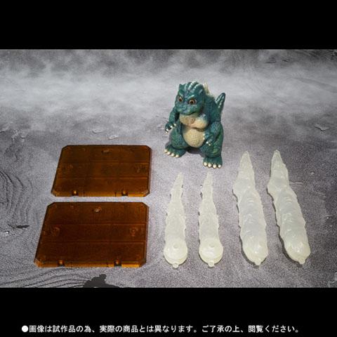 S.H.MonsterArts リトルゴジラ&結晶体セット