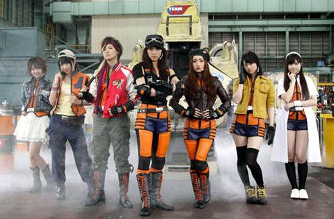 AKB48がウルトラマン史上初の女性だけの地球防衛隊に!