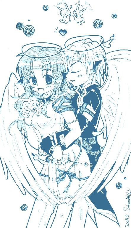 天使カップル2
