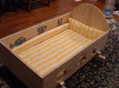 手作りベッド ベビー