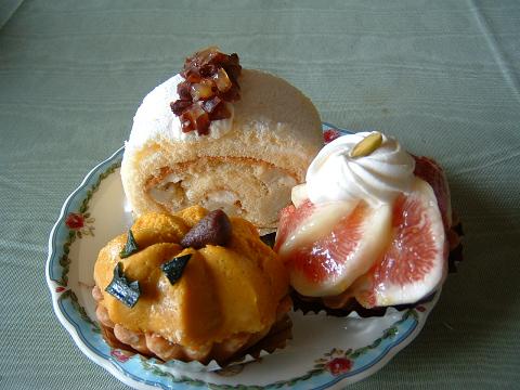 秋のケーキ0001