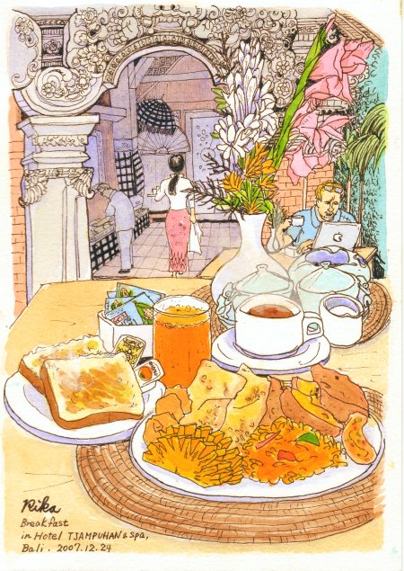 チャンプハンホテル(朝食)