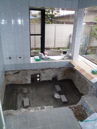 風呂施工 004