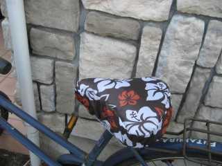 自転車の : 自転車 サドルカバー 手作り : 自転車のサドルカバーを手作り ...