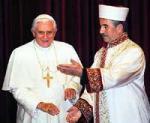 トルコ宗教庁長官とローマ法王